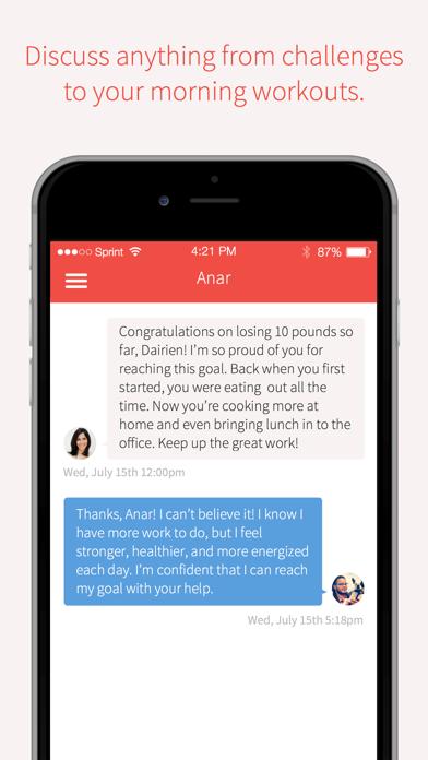 Rise - Nutrition & Weight Loss Coach screenshot