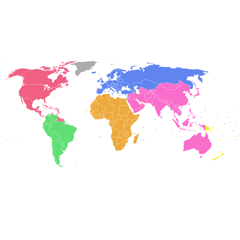 Visited World Map