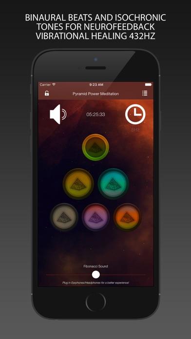 Pyramid Power Meditation 432Hz – Binaural Isochronic Tones for Neurofeedback Vibrational Healing screenshot one
