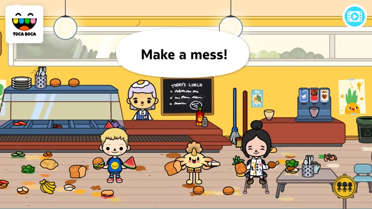 Toca Life: School screenshot-3