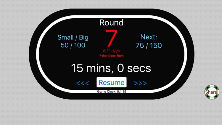 Poker Setup & Timer: Texas Hold'em screenshot-4