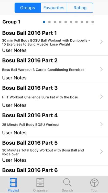 Bosu Ball 2016