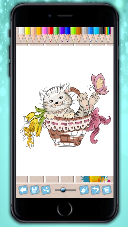 Cats coloring pages - drawings to paint and color kittens