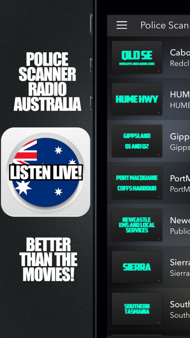 Police Scanner Radio Australia screenshot one