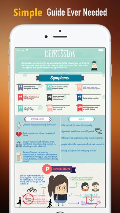 Dysthymia Self Help: Guide Tutorial with Daily Support screenshot two