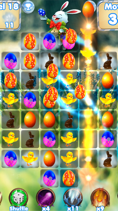 Easter Egg Games - Hunt candy and gummy bunny for kids free Moves and Lives hack