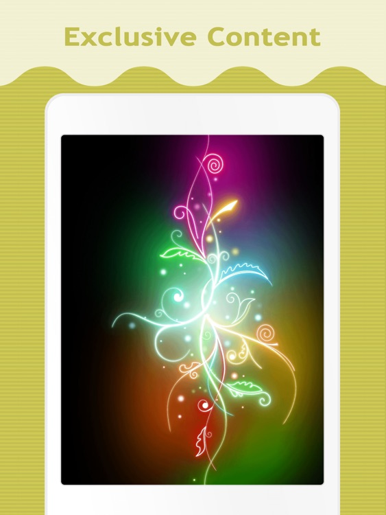 Neon Wallpapers for iPad screenshot-3