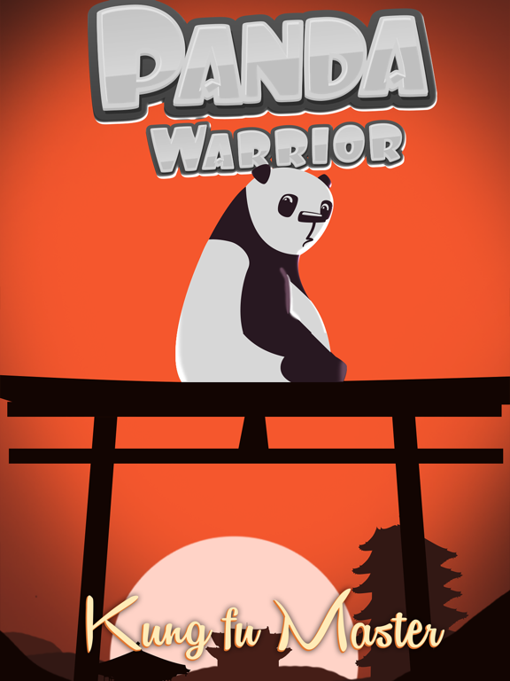 Panda Warrior - Kungfu Samurai-ipad-0