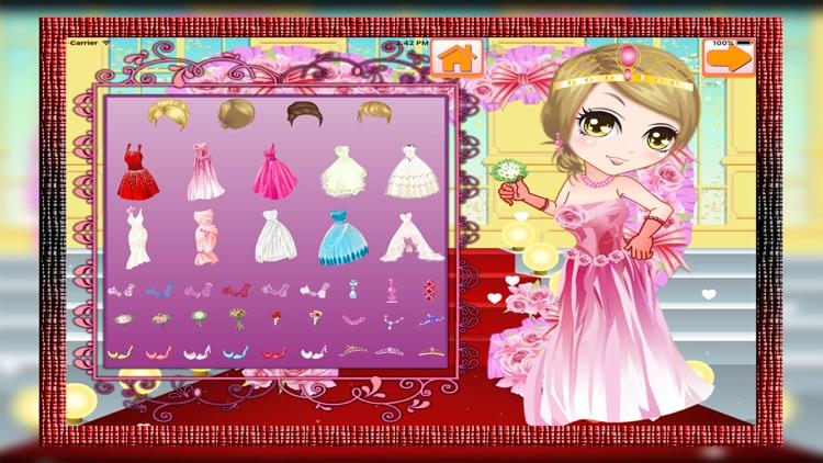 Sweety Bride Dress Up