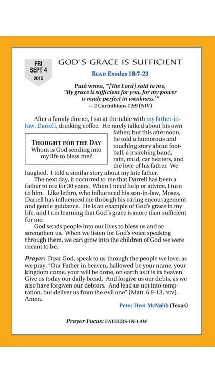 The Upper Room daily devotional guide digital magazine screenshot-4