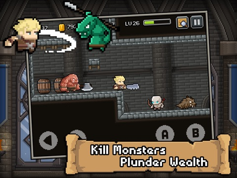 Don't die in dungeons на iPad