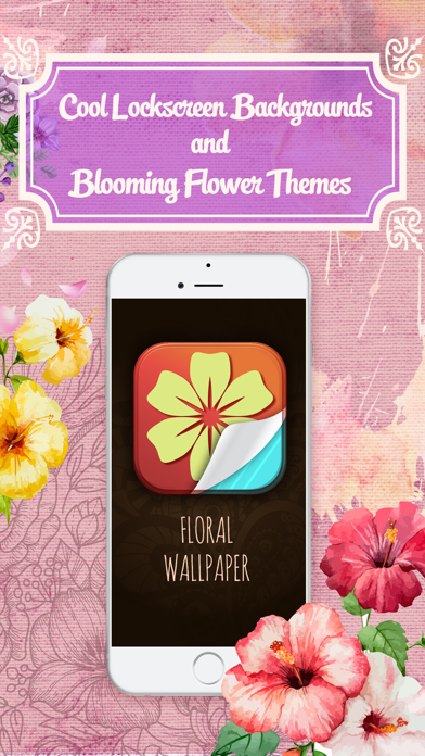 HD Floral Wallpaper - Cool Lockscreen Backgrounds and