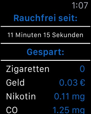 Stop Smoking - Rauchfrei sein! Screenshot
