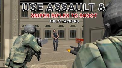 陸軍シューター社長の救助 - 極端な射撃シミュレーターのゲームのスクリーンショット1