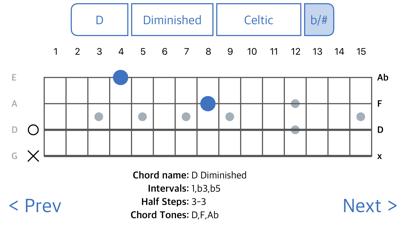 ChordFinder for Tenor Banjo screenshot one