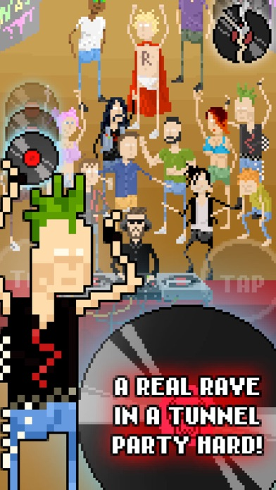 Dave in the Tunnel Raveのおすすめ画像2
