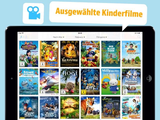 kinderfilme für ipad