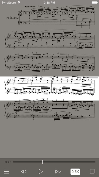 Bach Partitas - SyncScore screenshot-1