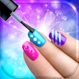 Nail Art Makeover Design - Virtual Manicure Salon Game - Beauty And Fashion Ideas For Girls