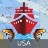 Marine Navigation - Lake Depth Maps - USA - Offline Gps Nautical Charts for Fishing, Sailing and Boating Reviews