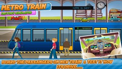点击获取Metro Train Factory Simulator Kids Games