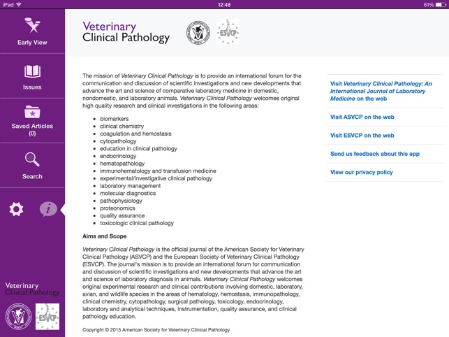 Veterinary Clinical Pathology on the App Store
