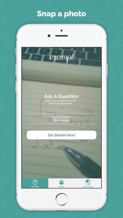 Exampl – Get Unstuck With Homework