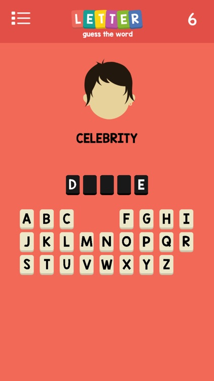 Letters : Guess The Word -- A Pop Culture Hangman screenshot-4
