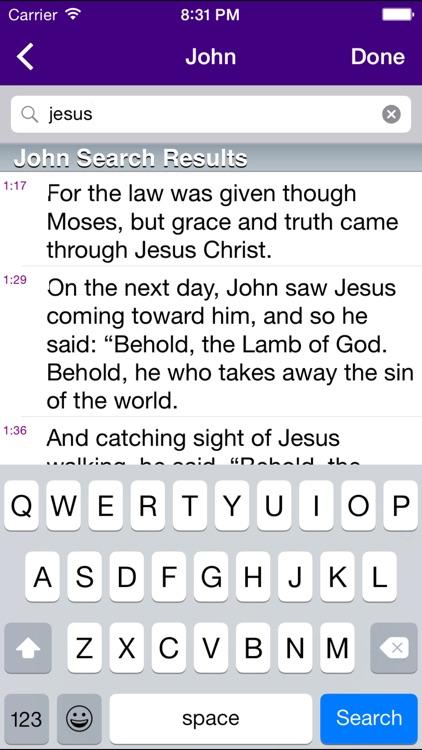 Bible for Catholics screenshot-3