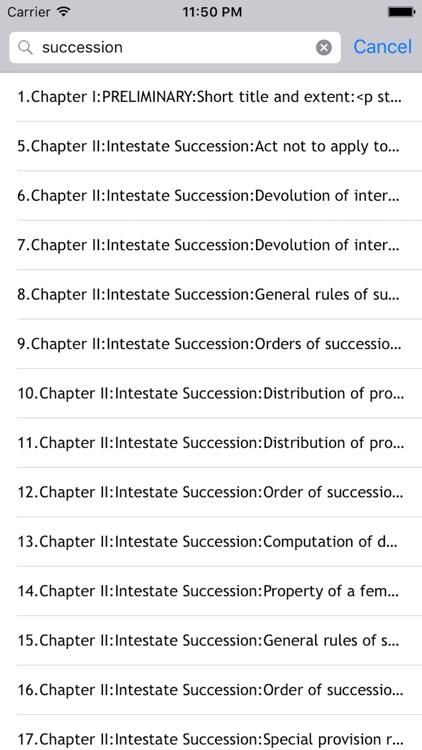 intestate succession under hindu law