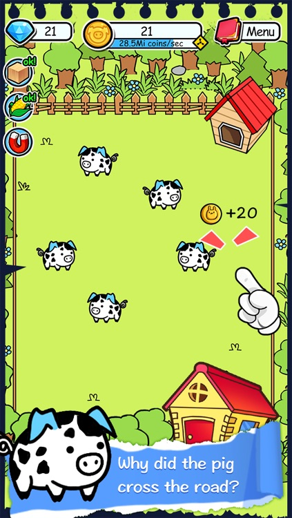 Pig Evolution - Tap Coins of the Piggies Mutant Tapper & Clicker Game