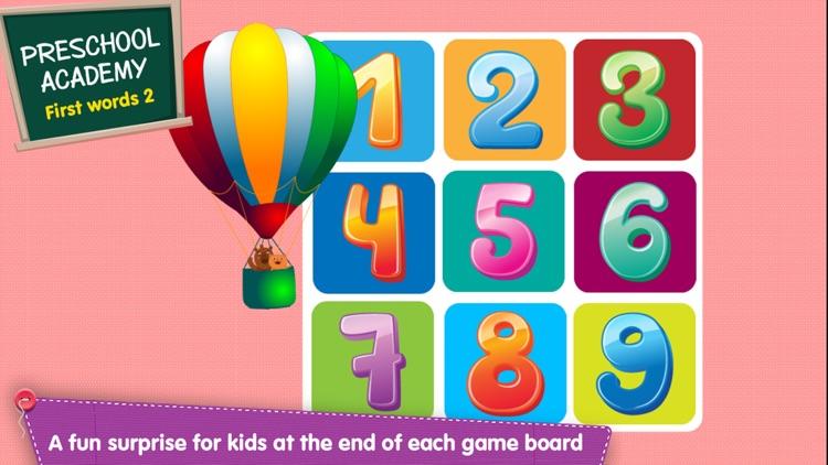 First Words 2 -  English : Preschool Academy educational matching game for Pre-k and kindergarten children screenshot-4