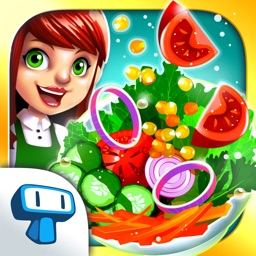 My Salad Bar - Vegetarian Restaurant Management Game