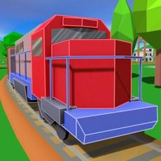 Activities of Cargo Train Driver: Railway Simulator 3D