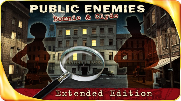 Public Enemies : Bonnie & Clyde – Extended Edition - A Hidden Object Adventure screenshot-0