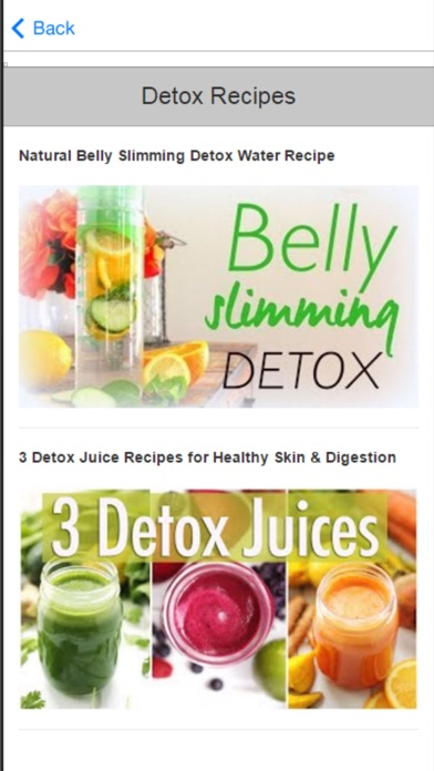 Detox Cleanse - Simple & Natural Ways to Detox Your Body screenshot two
