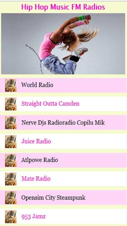 Hip Hop Music FM Radios