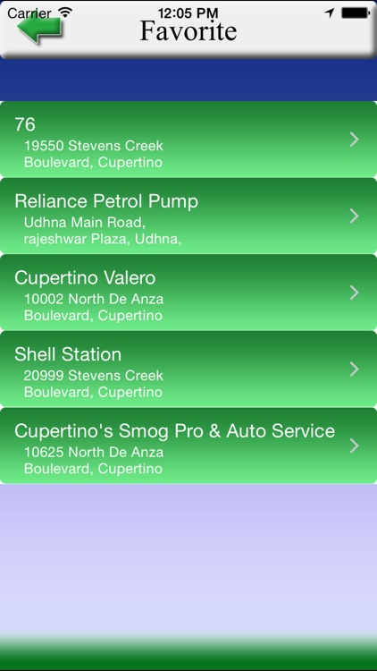 Fuel Finder - Find nearest Fuel station screenshot-4