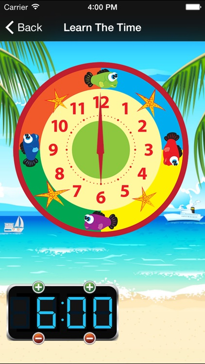 Time Teacher - Learn How To Tell Time