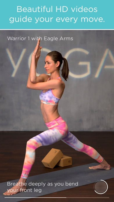 FitStar Yoga app image
