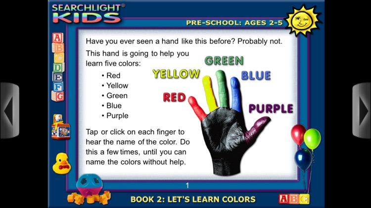 Searchlight® Kids: Let's Learn Colors screenshot-3