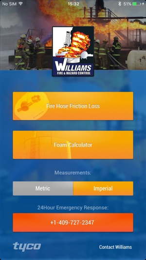 iPhone Screenshots & Williams Fire on the App Store