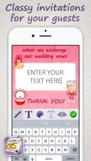 Wedding invitation maker be creative and design perfect cards for wedding invitation maker be creative and design perfect cards for your big day on the app store stopboris Gallery