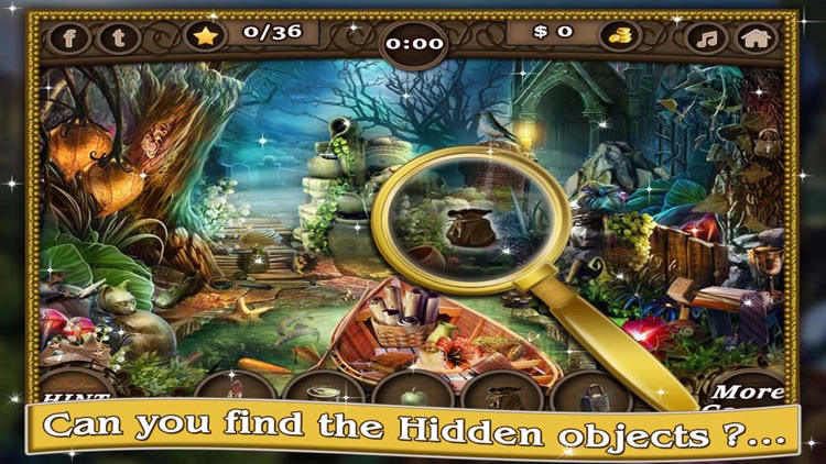 Abandoned Castle Gems - Find the Hidden Objects screenshot-3