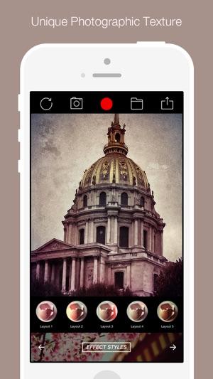 Visuelle Cam Show - Verbessern Sie Ihr Foto mit 350+ schlanke Filter Screenshot