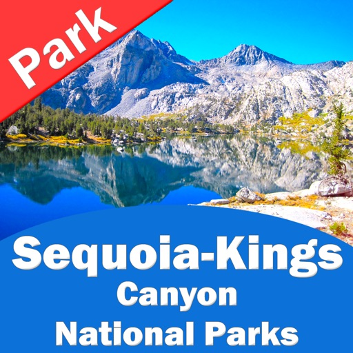 Sequoia Kings Canyon National Parks GPS Offline Map Navigator by
