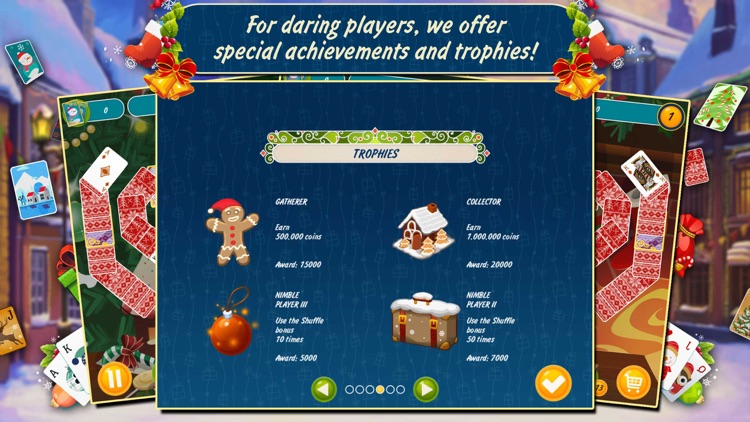 Solitaire Christmas. Match 2 Cards Free. Card Game screenshot-4