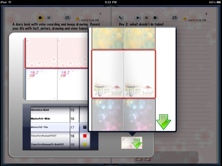 Diary Book for iPad screenshot-4