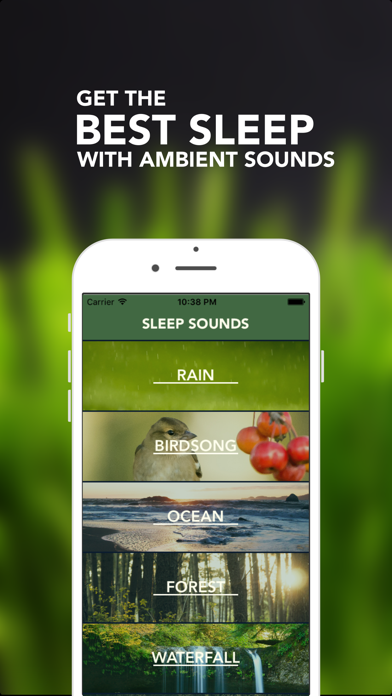 Sleep Maker - White Noise, Natural relaxing ambient sounds for meditation & yoga, help fall asleepのおすすめ画像1