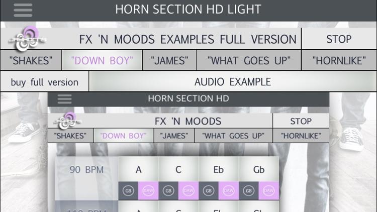 Horn Section HD Light screenshot-3